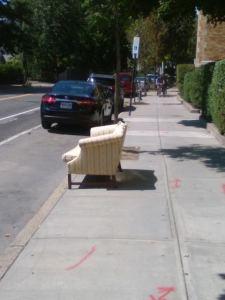 Iemand een zetel hebben? 't is van de