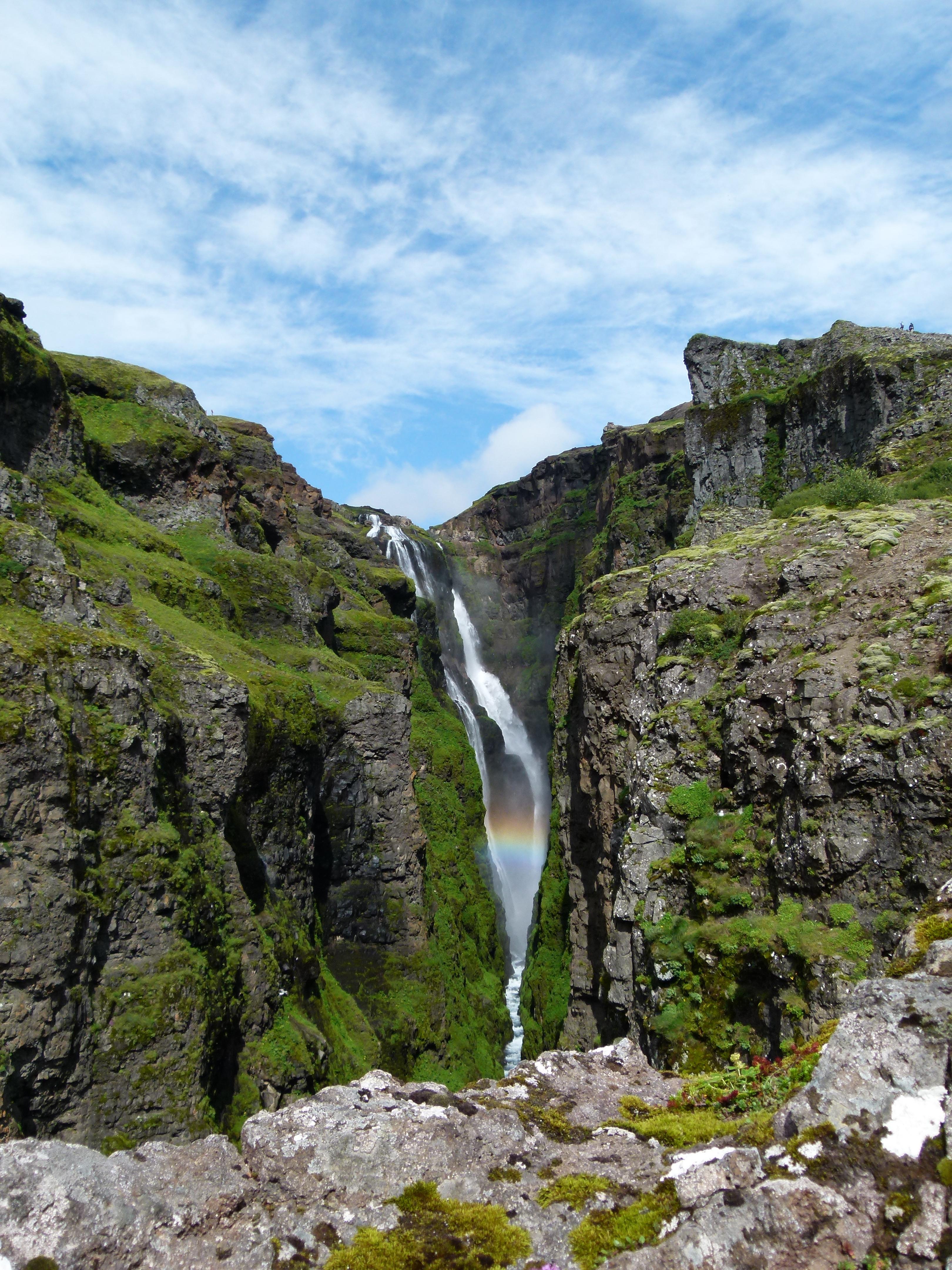 Ijsland Glymur waterval
