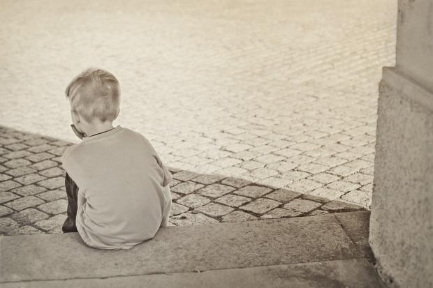 kind alleen