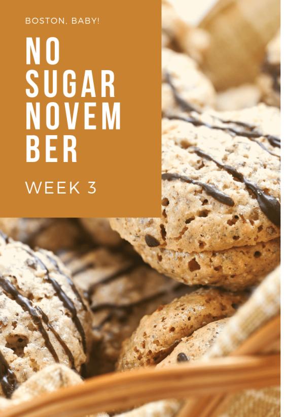 no sugar november 3