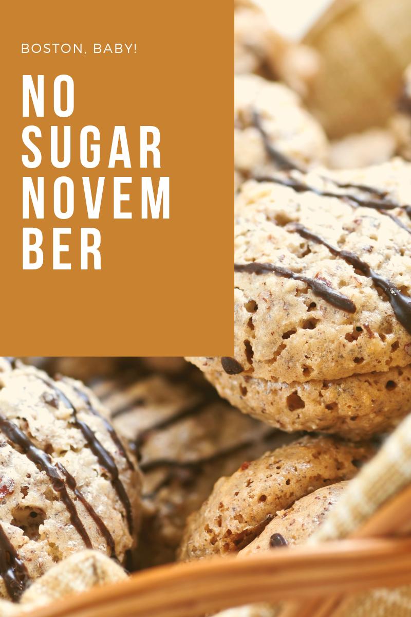 NO sugar november